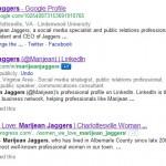 google results linkedin